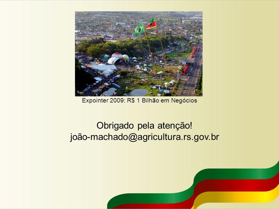 Expointer 2009: R$ 1 Bilhão em Negócios