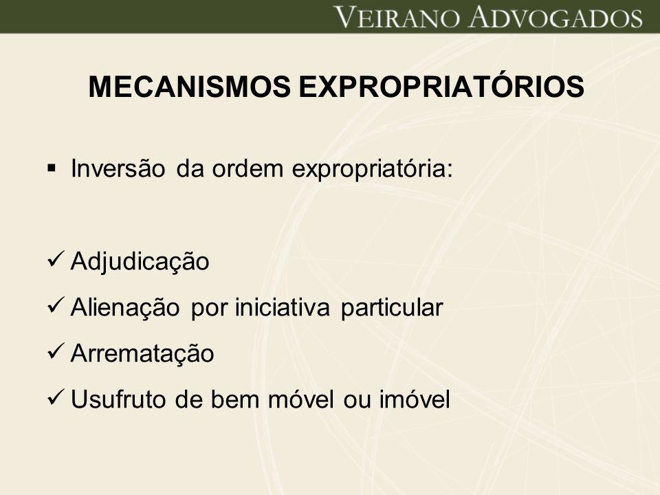 MECANISMOS EXPROPRIATÓRIOS