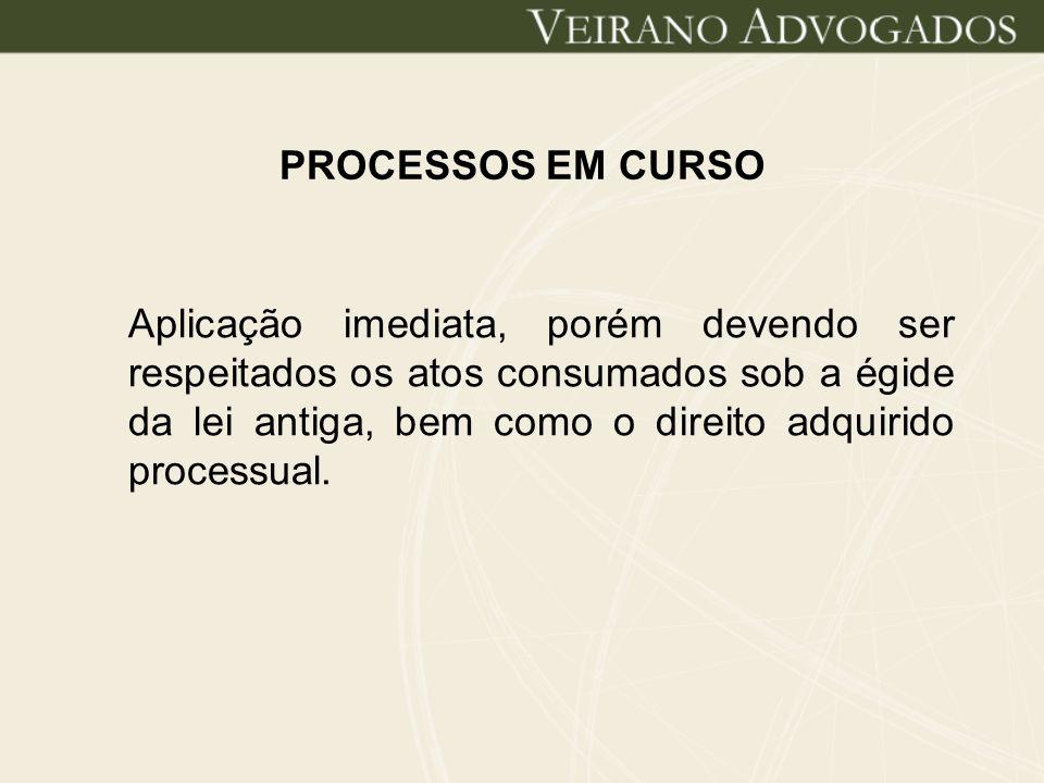 PROCESSOS EM CURSO