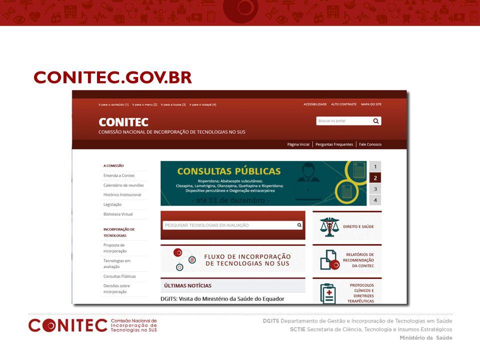 CONITEC.GOV.BR