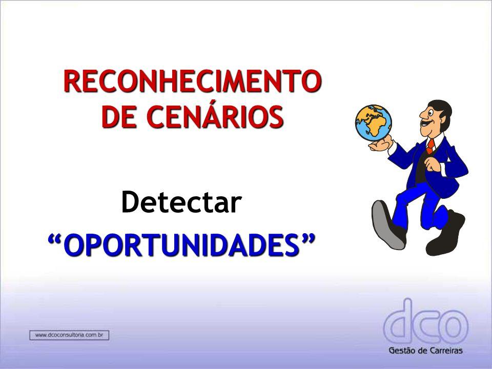 RECONHECIMENTO DE CENÁRIOS