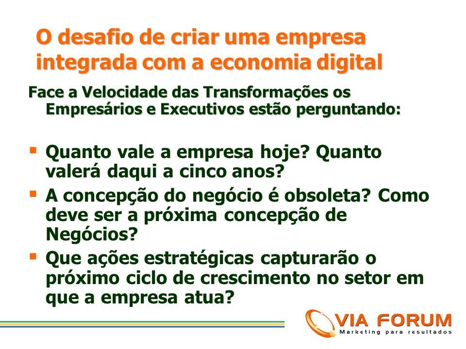 O desafio de criar uma empresa integrada com a economia digital