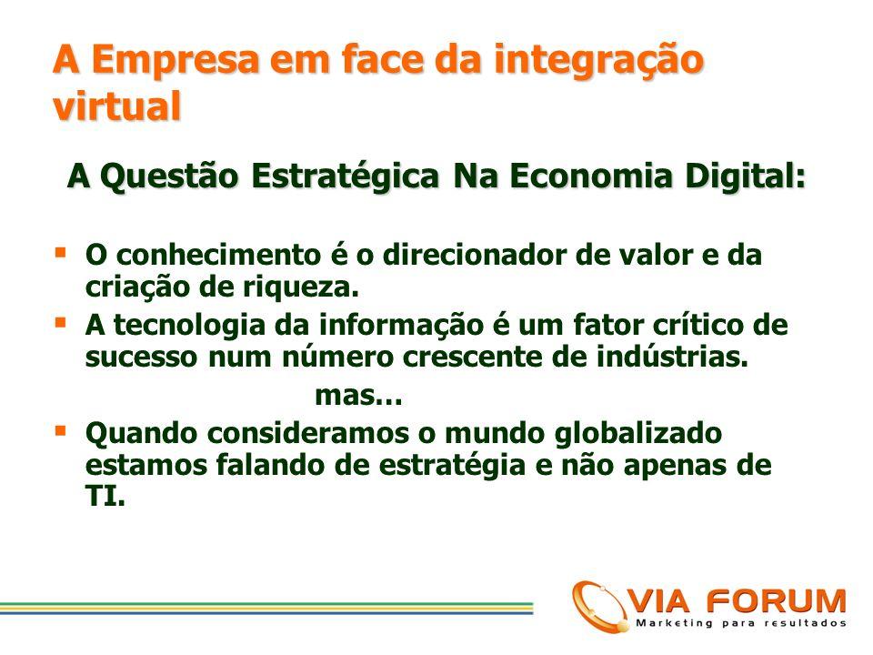 A Empresa em face da integração virtual