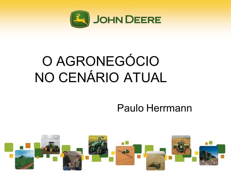 O AGRONEGÓCIO NO CENÁRIO ATUAL