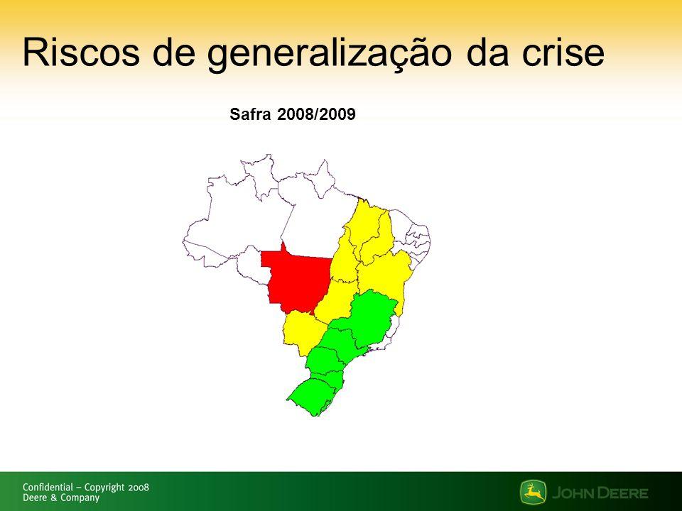 Riscos de generalização da crise