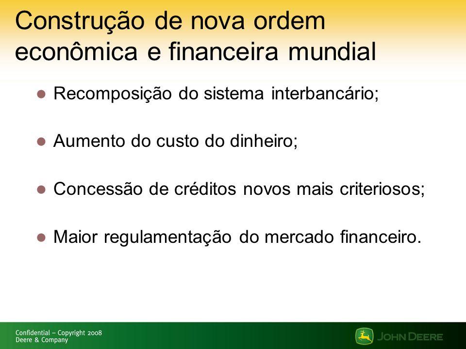 Construção de nova ordem econômica e financeira mundial