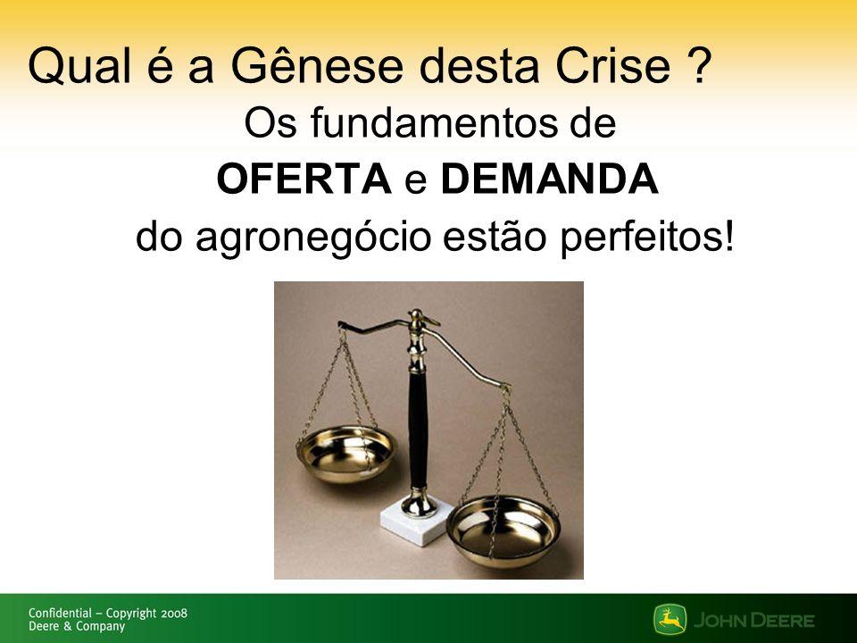 Qual é a Gênese desta Crise
