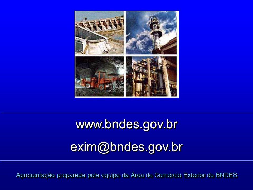 www.bndes.gov.br exim@bndes.gov.br
