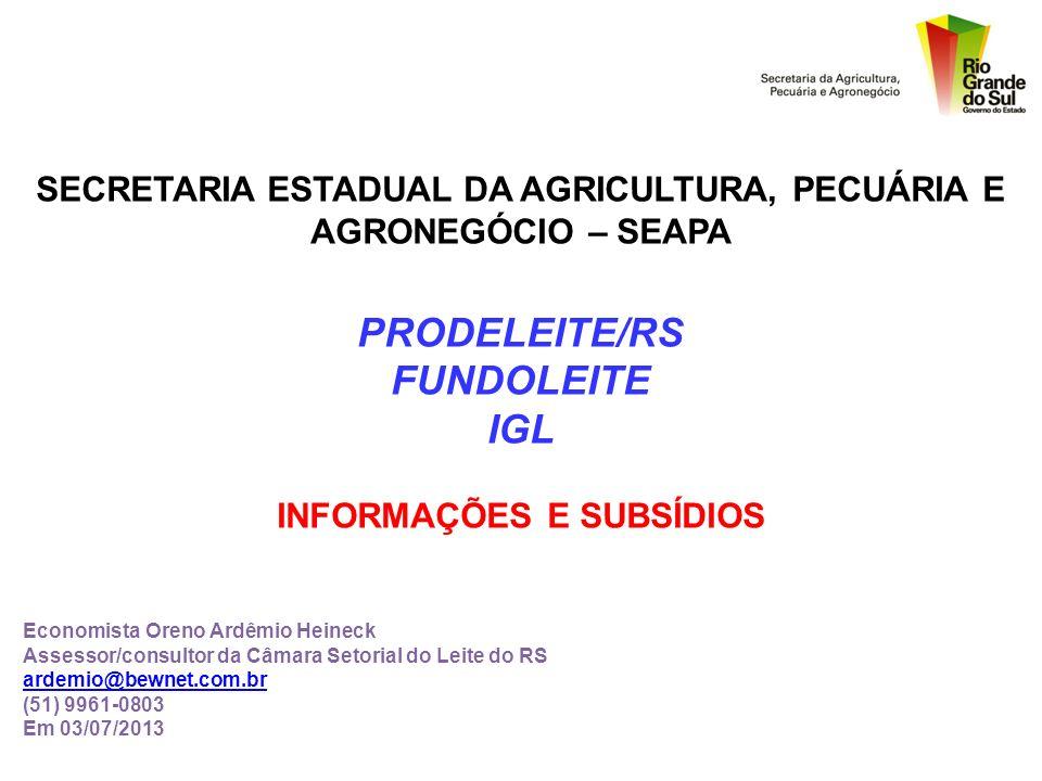 PRODELEITE/RS FUNDOLEITE IGL