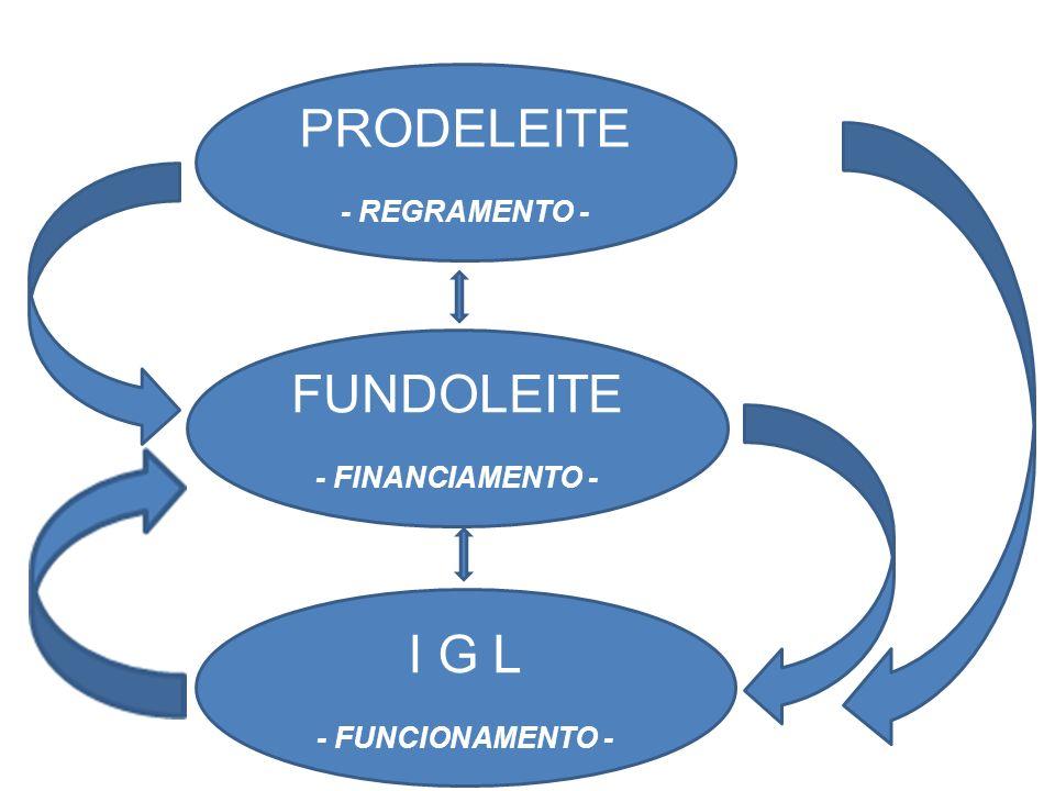 PRODELEITE FUNDOLEITE I G L - REGRAMENTO - - FINANCIAMENTO -