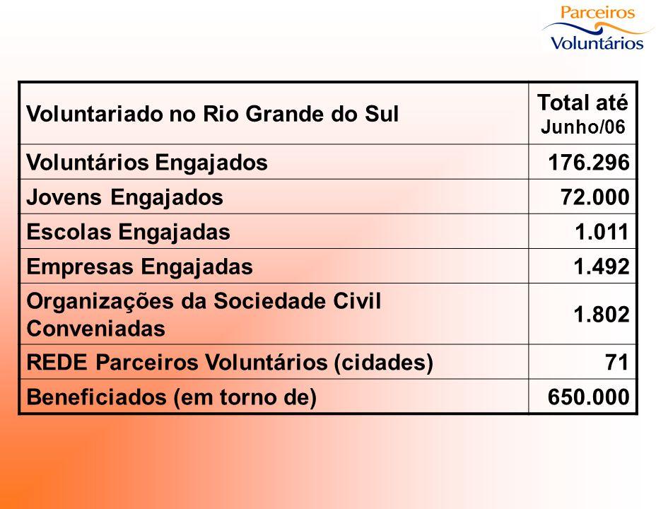 Voluntariado no Rio Grande do Sul