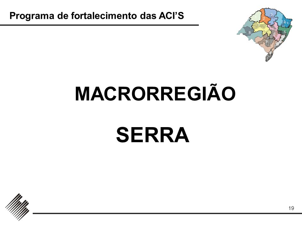 MACRORREGIÃO SERRA