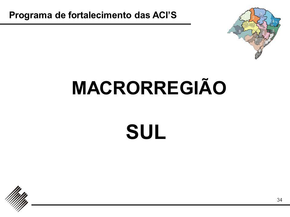 MACRORREGIÃO SUL