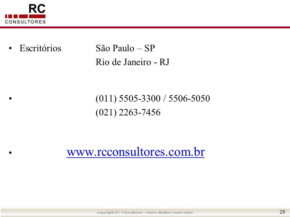 Escritórios São Paulo – SP
