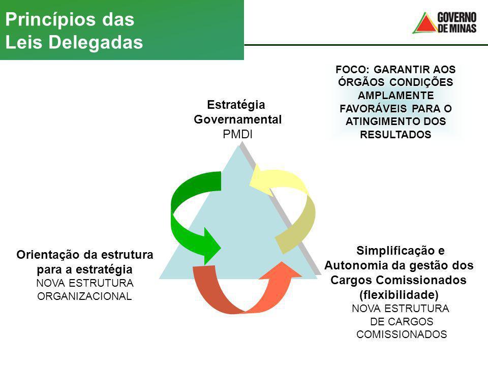 Princípios das Leis Delegadas