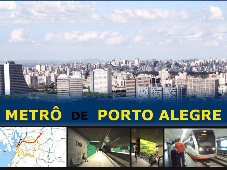 METRÔ PORTO ALEGRE PROPOSTA DE PPP PARA O METRÔPOA DE