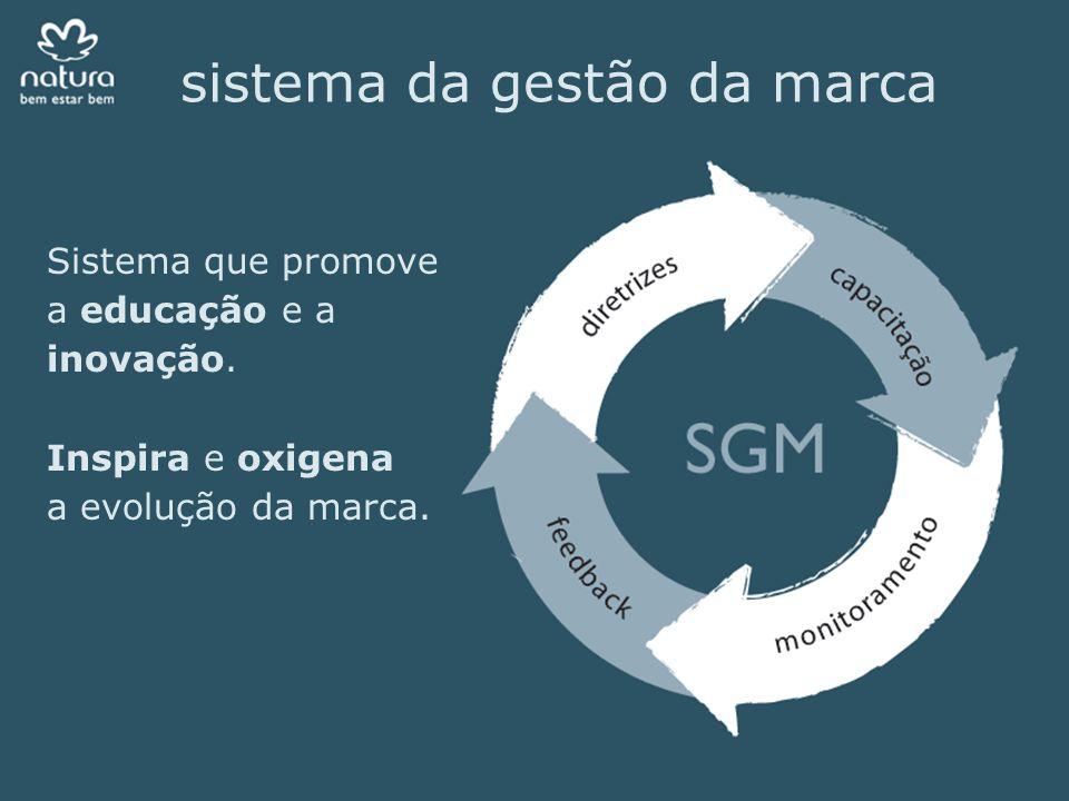 sistema da gestão da marca