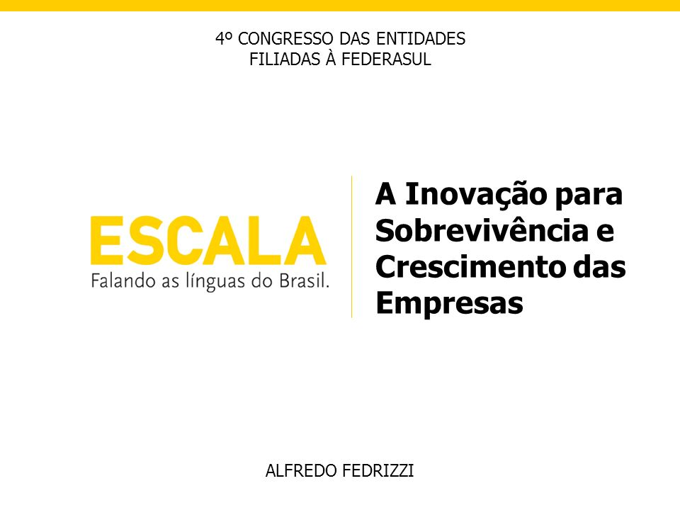 4º CONGRESSO DAS ENTIDADES