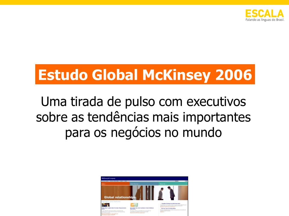 Estudo Global McKinsey 2006