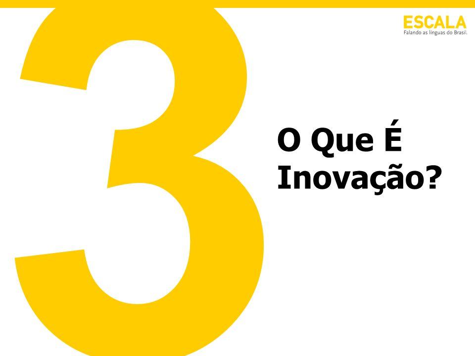 3 O Que É Inovação