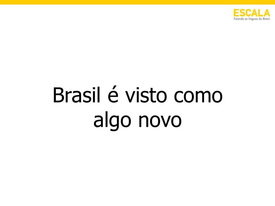 Brasil é visto como algo novo