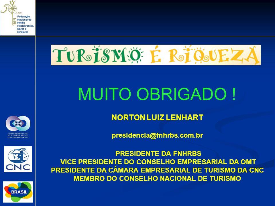 MUITO OBRIGADO ! NORTON LUIZ LENHART