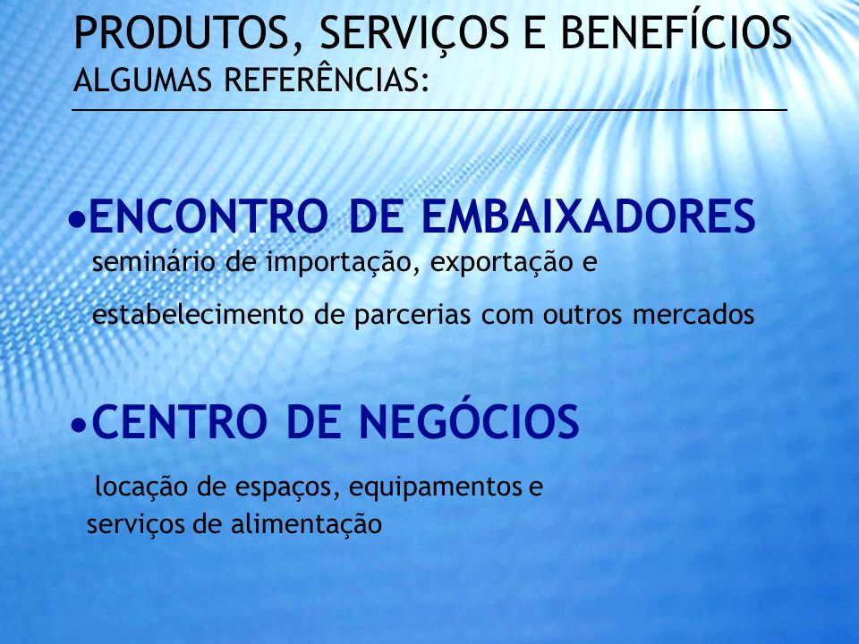 ENCONTRO DE EMBAIXADORES