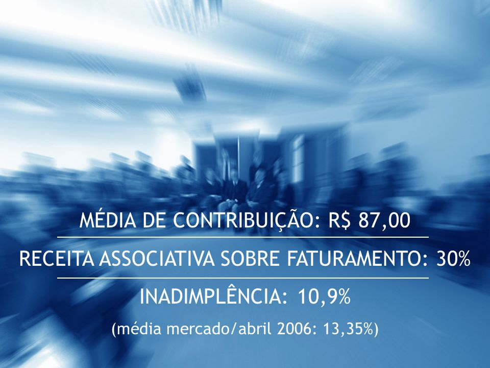 MÉDIA DE CONTRIBUIÇÃO: R$ 87,00