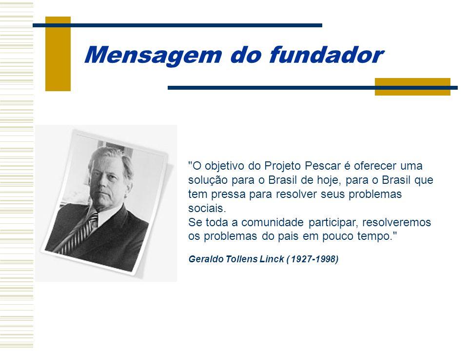 Mensagem do fundador