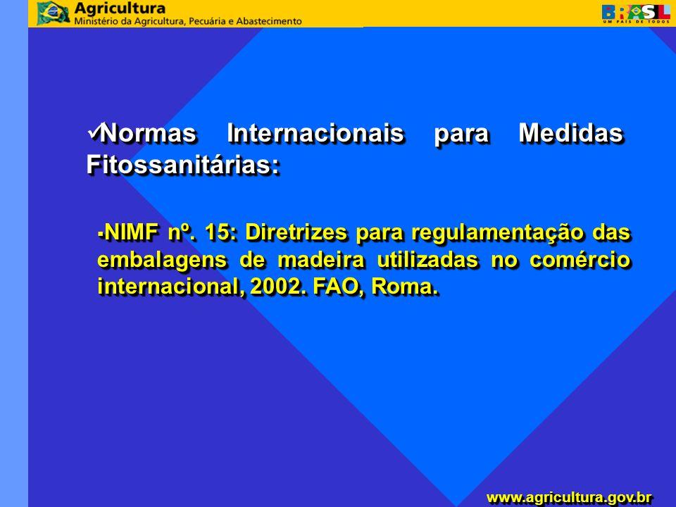 Normas Internacionais para Medidas Fitossanitárias: