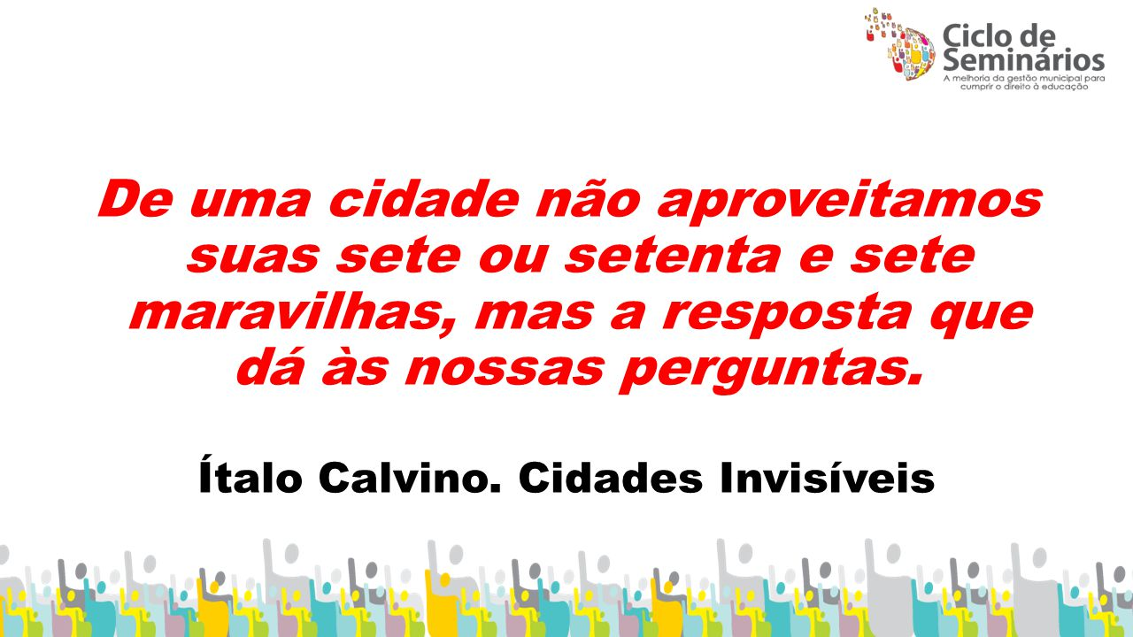 Ítalo Calvino. Cidades Invisíveis