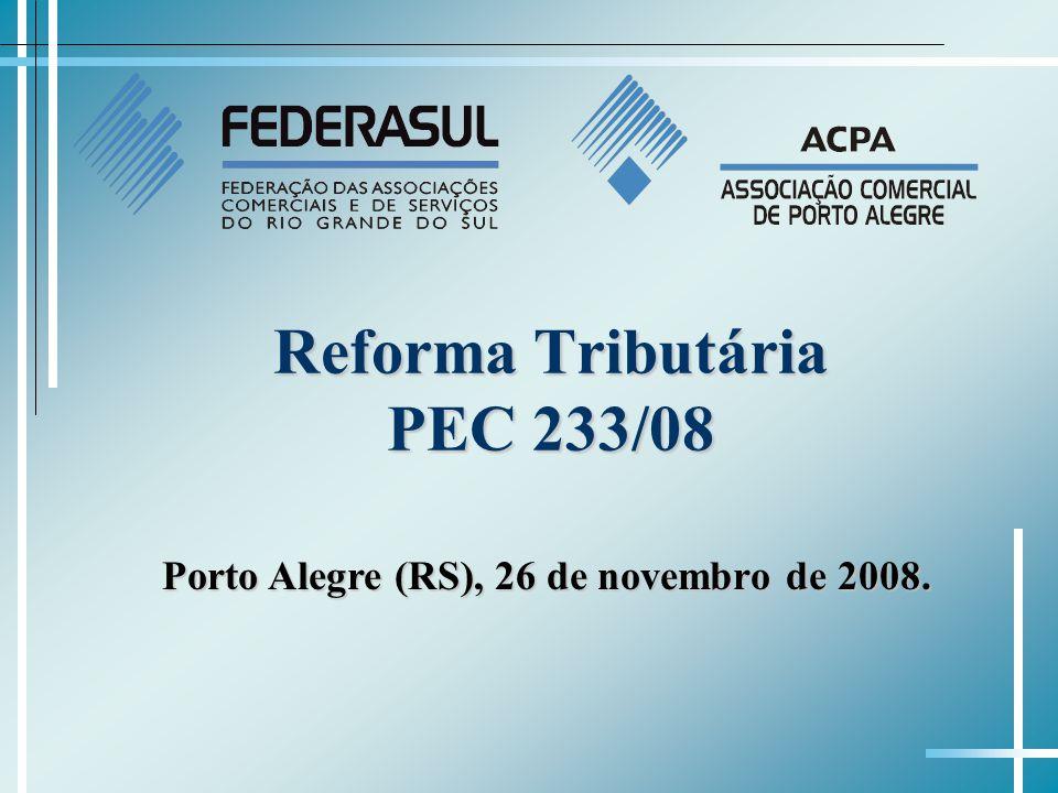Reforma Tributária PEC 233/08
