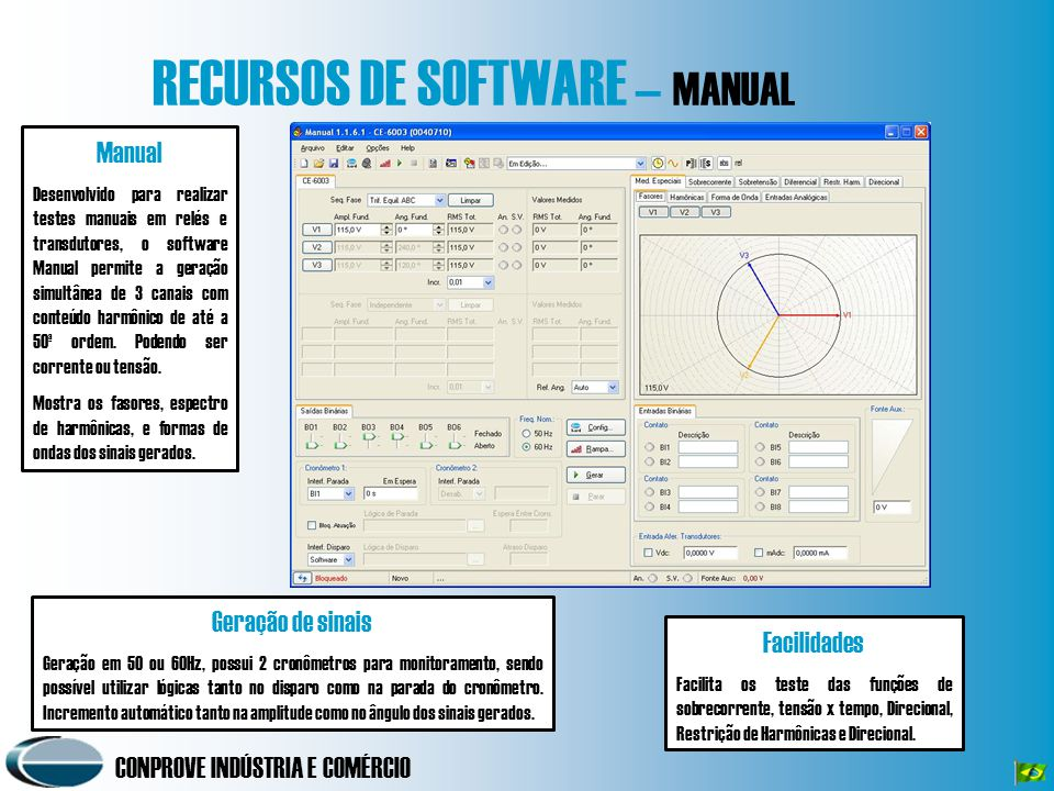 RECURSOS DE SOFTWARE – MANUAL