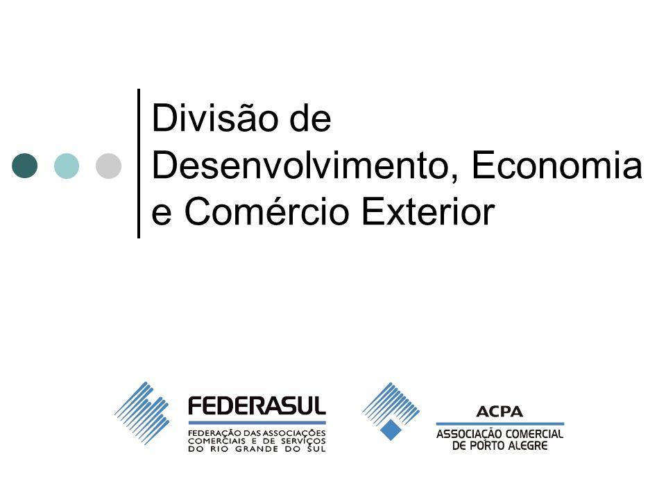 Divisão de Desenvolvimento, Economia e Comércio Exterior