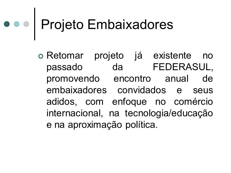 Projeto Embaixadores