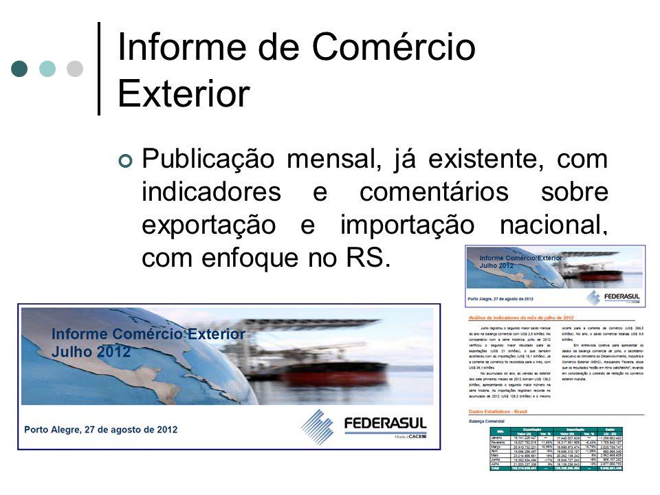 Informe de Comércio Exterior