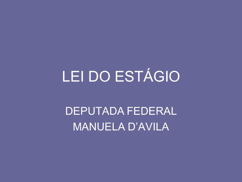 DEPUTADA FEDERAL MANUELA D'AVILA