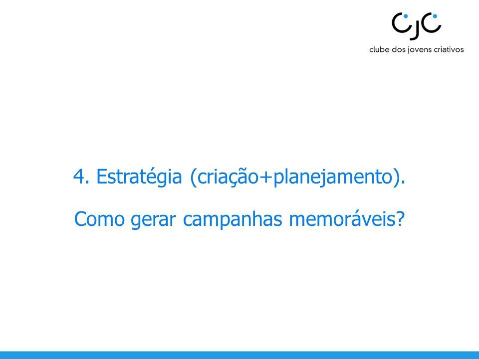 4. Estratégia (criação+planejamento).