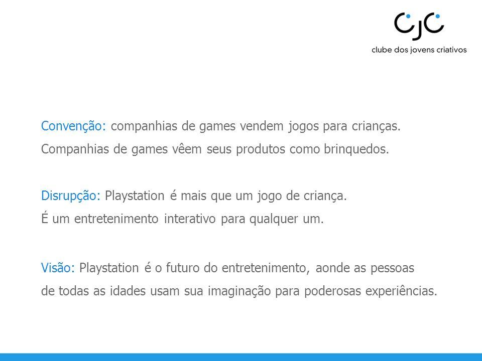 Convenção: companhias de games vendem jogos para crianças.