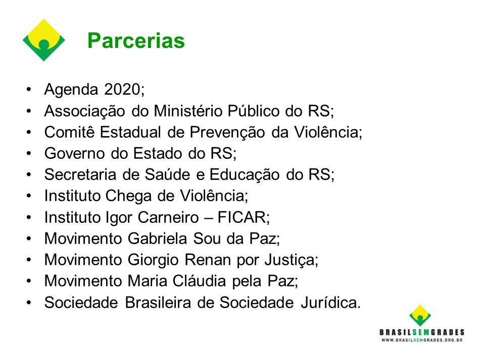 Parcerias Agenda 2020; Associação do Ministério Público do RS;