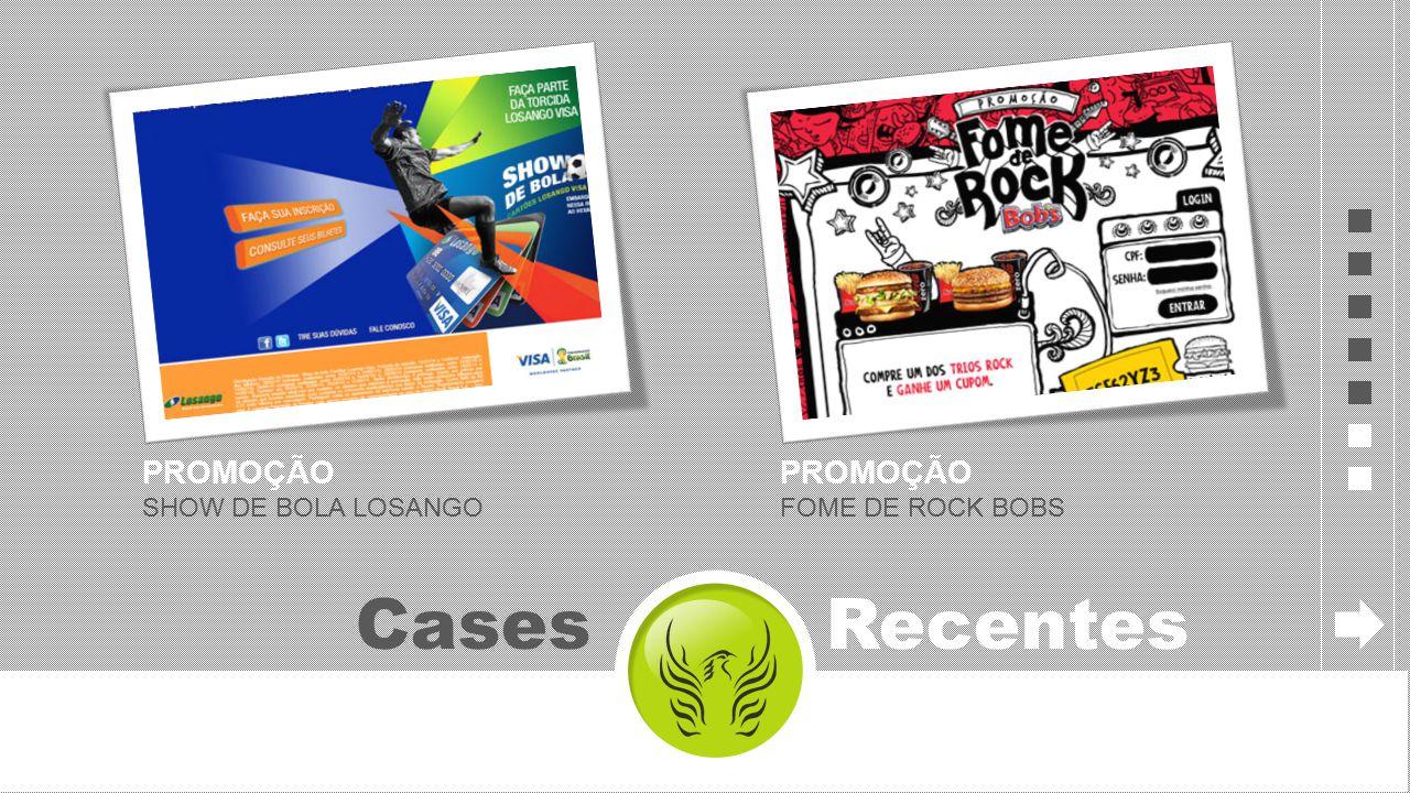 Cases Recentes PROMOÇÃO SHOW DE BOLA LOSANGO