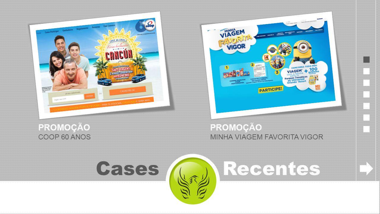 Cases Recentes PROMOÇÃO COOP 60 ANOS