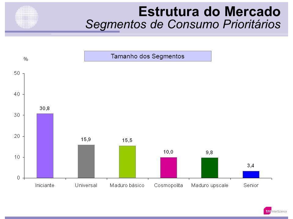 Estrutura do Mercado Segmentos de Consumo Prioritários