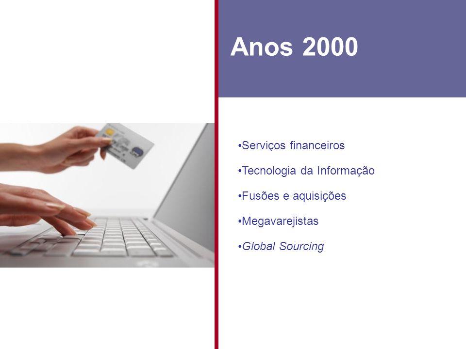 Anos 2000 Serviços financeiros Tecnologia da Informação
