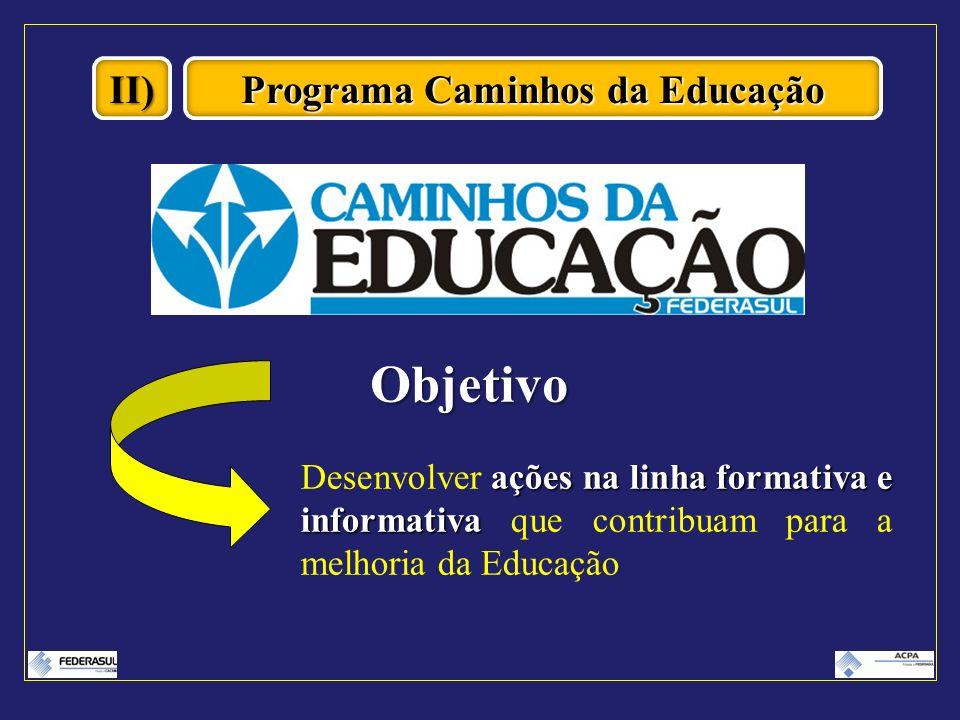 Programa Caminhos da Educação
