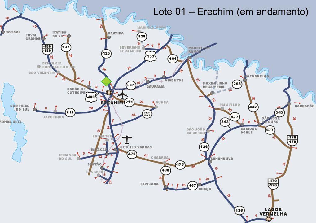 Lote 01 – Erechim (em andamento)