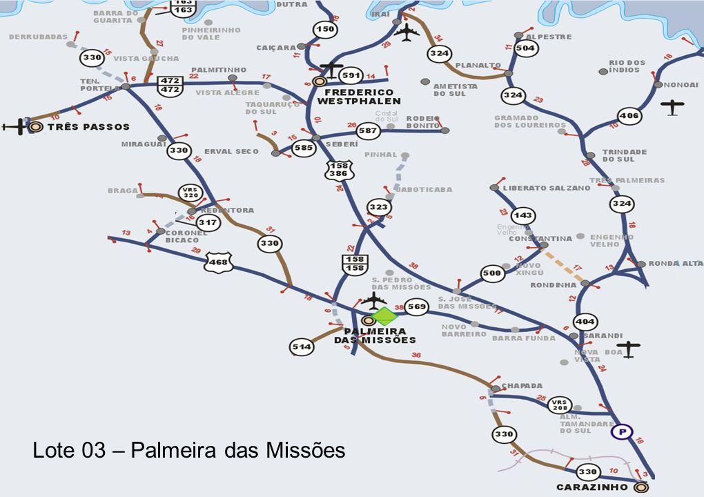 Lote 03 – Palmeira das Missões