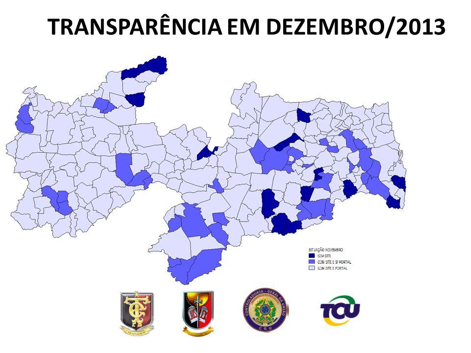 TRANSPARÊNCIA EM DEZEMBRO/2013