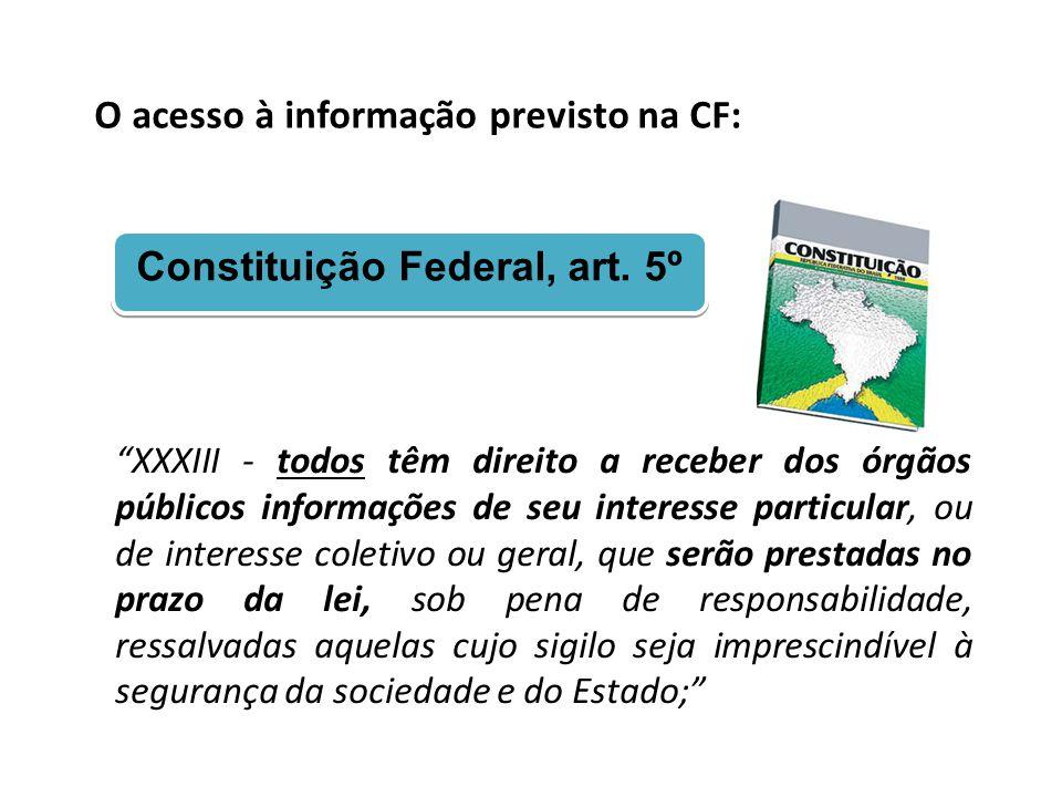 Constituição Federal, art. 5º