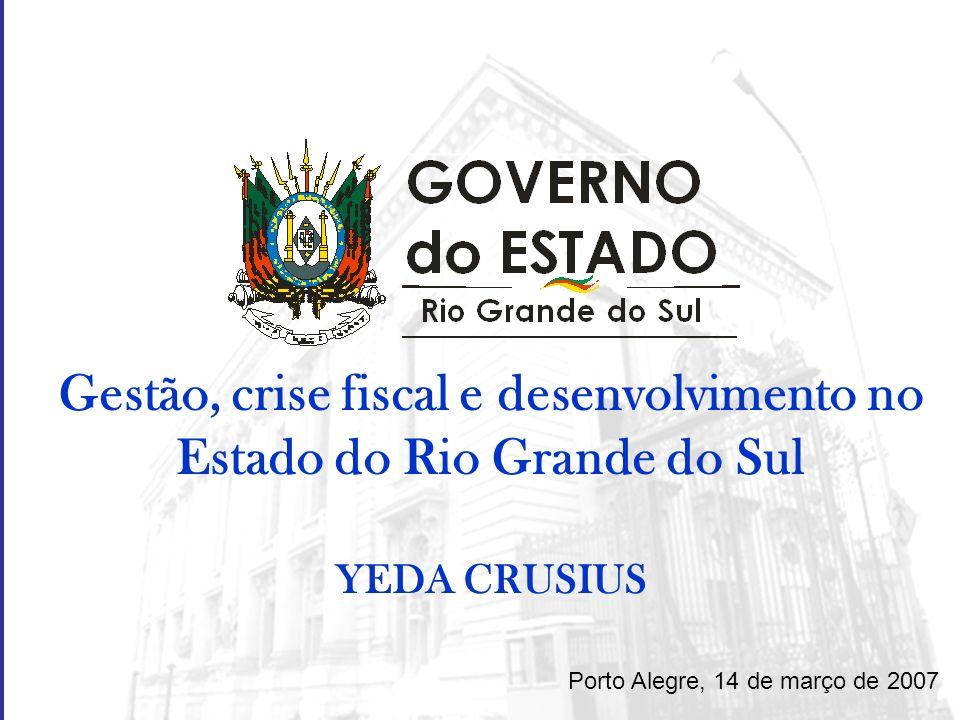 Gestão, crise fiscal e desenvolvimento no Estado do Rio Grande do Sul